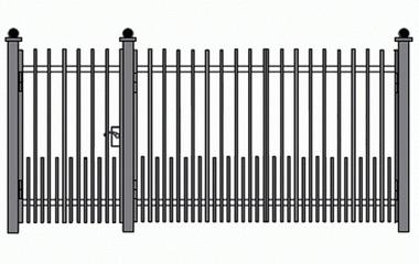 Сварные ворота